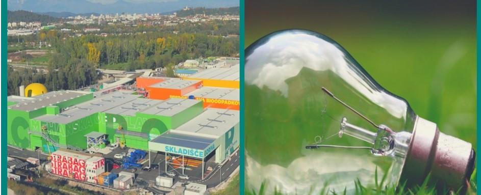 Obisk regijskega centra za ravnanje z odpadki in delavnica trajnostno naravnani na delovnem mestu