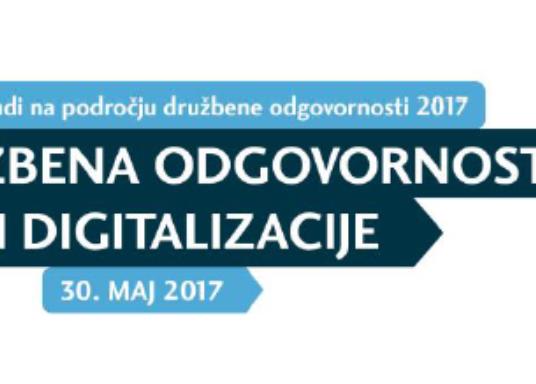Mednarodna konferenca Trendi na področju družbene odgovornosti 2017
